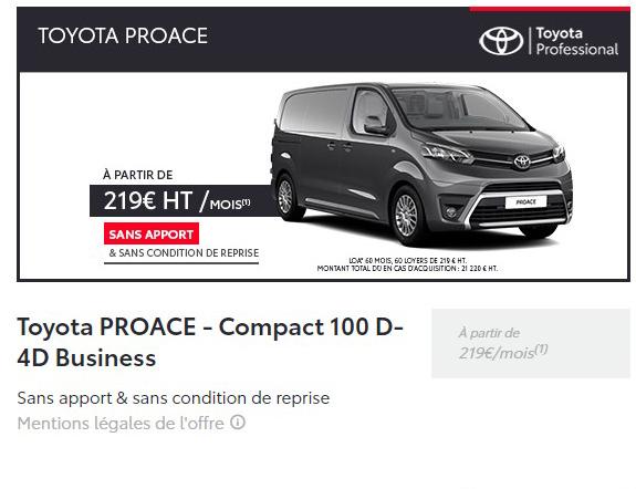 Proace Compact 100 D-4D Business